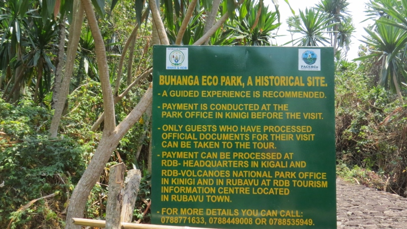 Buhanga Eco Park Rwanda