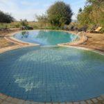 Figure 8 - the swiming pool at Ashnil Aruba Lodge