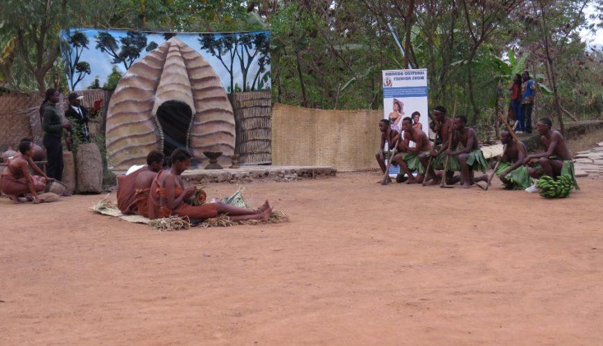 Red Rocks community centre by Virunga National Park in Rwanda.