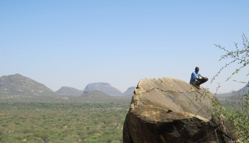 Mountains and Plains - the Ndoto Range in northern Kenya