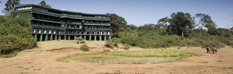 Serena Mountain Lodge on slopes of Mount Kenya