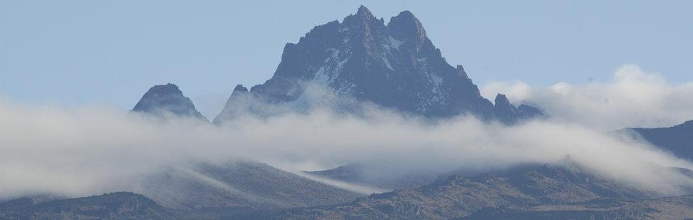 Batian - highest peak of Mount Kenya