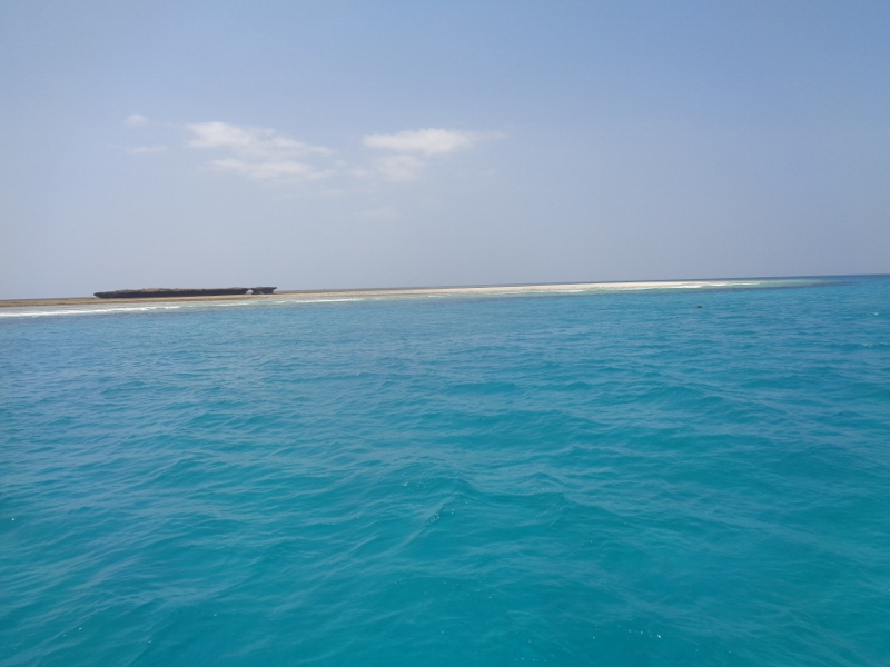 Sand bar in Kisite-Mpunguti National Marine Park Copyright Rupi Mangat