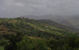 Road to Mutito Hills with beautiful hilltops -copyright Rupi Mangat