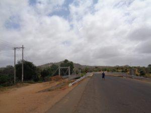 Road to Mutito Hills over the new bridge -copyright Rupi Mangat