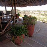 Tortilis Camp overlooking the plains of Amboseli and Mt Kilimanjaro Copyright Rupi Mangat