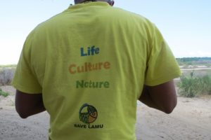 At Kwasasi - Save Lamu - a coalition of more then 36 local Community-based organizations fighting to stop the coal plant - copyright Maya Mangat