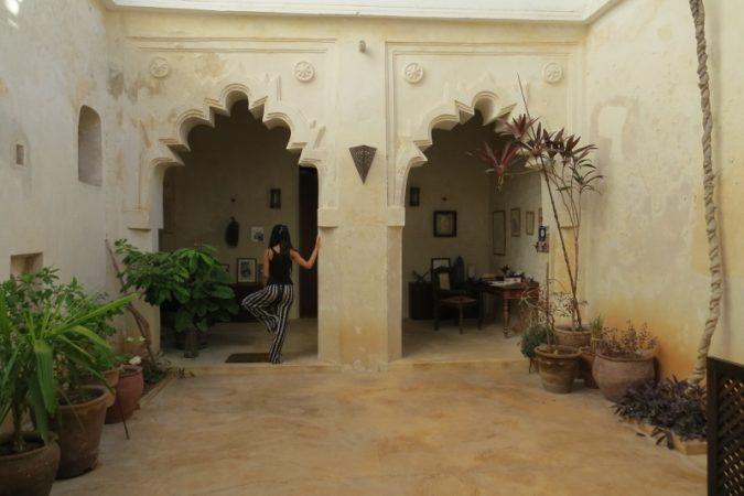 The courtyard -copyright Rupi Mangat