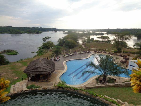 Chobe Safari Lodge by the Nile in Murchison Falls National Park - it's near Karuma Rapids Copyright Rupi Mangat