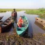 At Ziwa Rhino Sanctuary - morning on the canal looking for Shoebill storks Copyright: Rupi Mangat