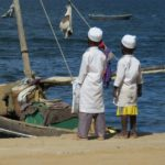 Swahili boys at Lamu sea front Photo: Maya Mangat