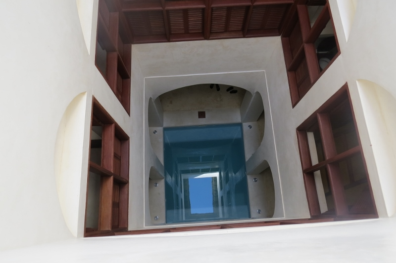 Plunge pool around what Nyota House is built Photo: Maya Mangat