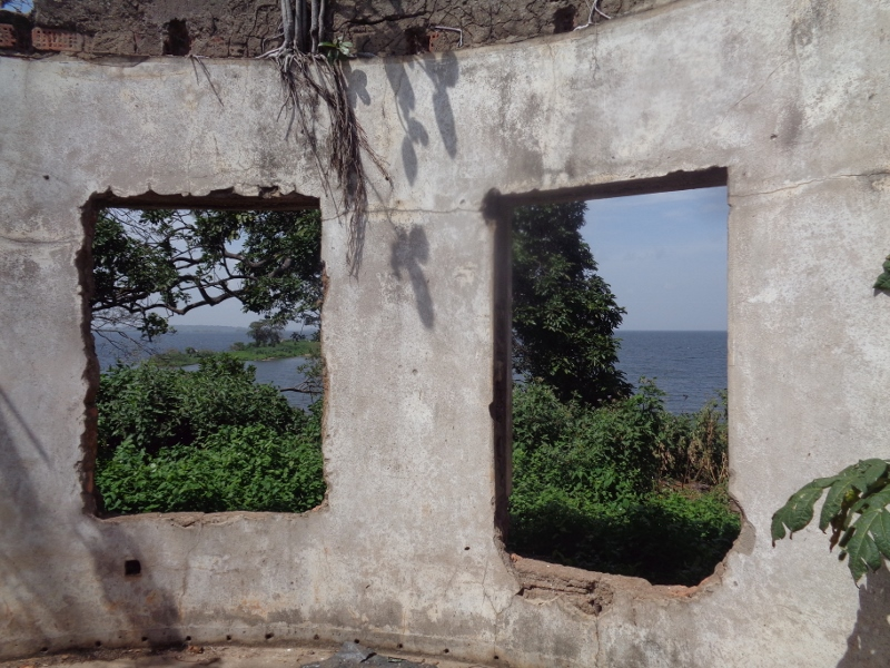 The once private island of Idi Amin - residence in ruins Copyright Rupi Mangat