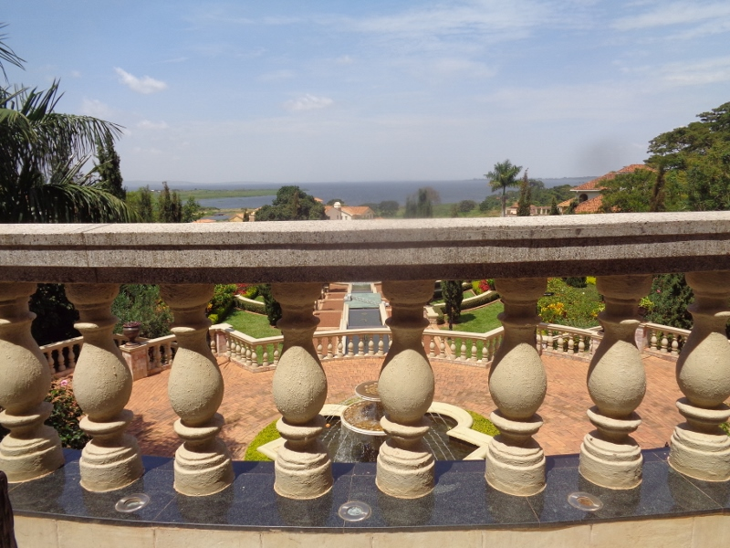 Lake Victoria Serena - The palatial hotel is rich in Roman architecture comes complete with an amphitheatre with columns, fountains, gardens and a swanky marina on the shores of Lake Victoria - copyright Rupi Mangat