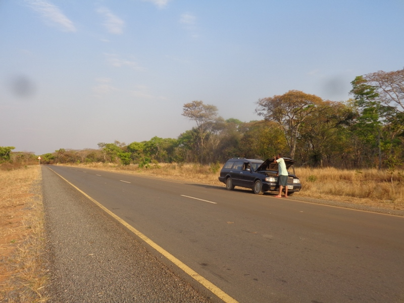 Mama Safari - on the road to Kigoma stopping at the miombo forest - copyrght Rupi Mangat