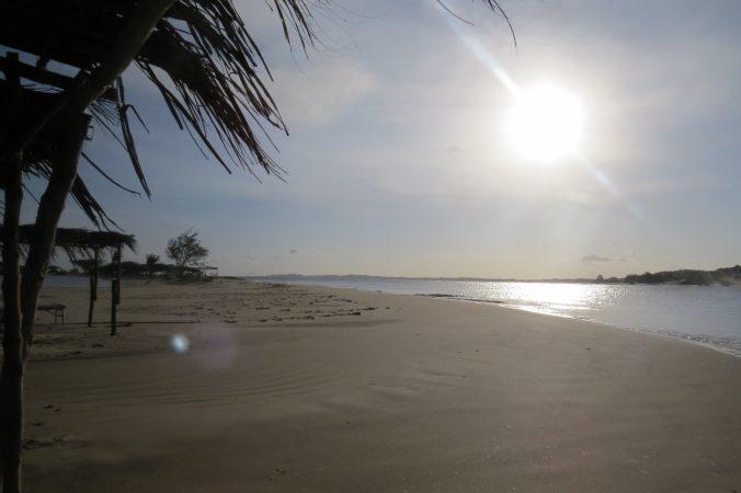 Beautiful beach by Diamonds on Manda Island opposite Lamu island on Kenya coast Copyright Rupi Mangat