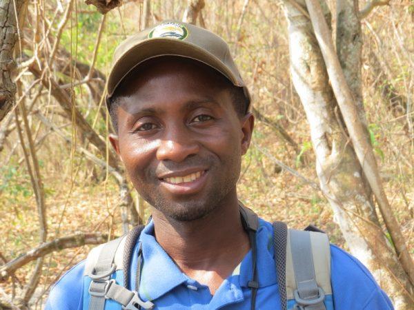Iddi Kaluse, Gombe park's guide - copyright Rupi Mangat