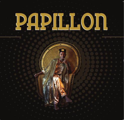 The cover of the launch of Papillon's new album HEART OF AFRICA with Ayub Ogada. - will happen during the festival