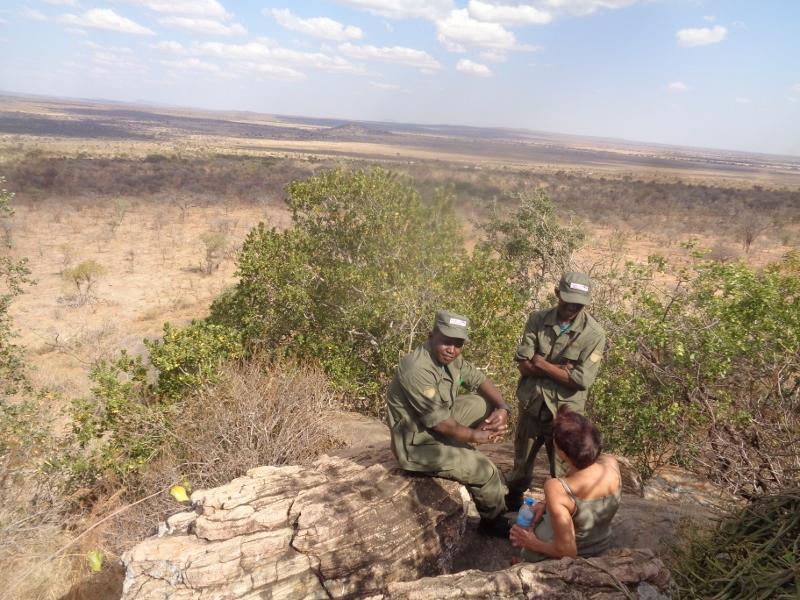 In Randilen Wildlife Mangement Area - near the with the python Picture: Galib Mangat