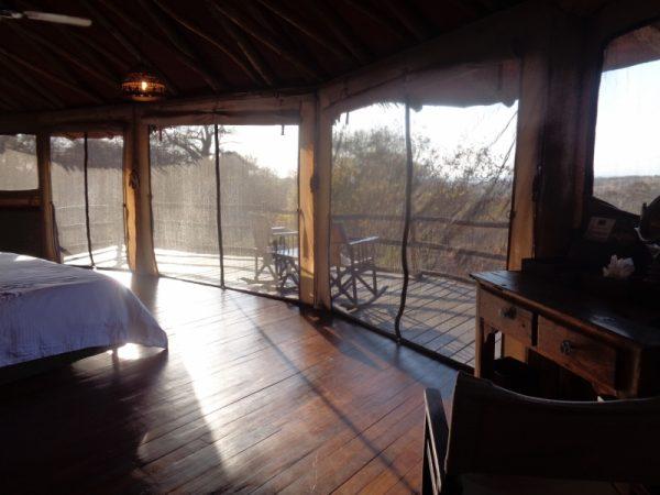 Luxury ien suite room -Tarangire Treetops in Randilen WMA in Tanzania - an eco-lodge. Picture: Galib Mangat