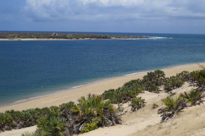 Sand dunes of Shela looking across at Manda Island Copyright Rupi Mangat
