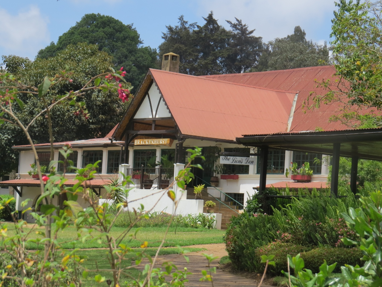 Brackenhurst Conference Centre and Botanic Gardens in Tigoni, 25-km northwest of Nairobi Copyright Rupi Mangat
