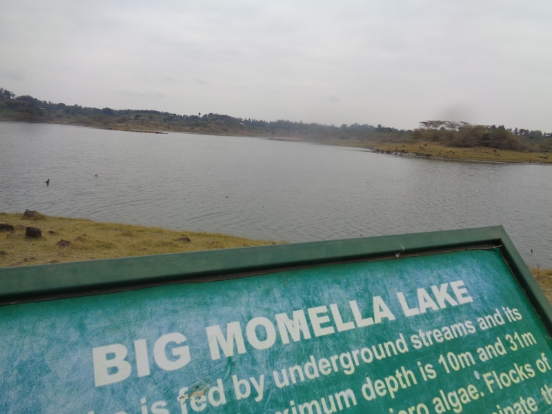 Momella lake in Arusha National Park Copyright Rupi Mangat