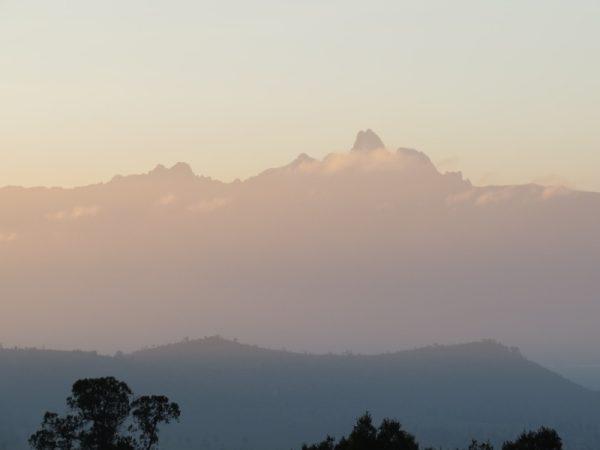 Mount Kenya from Lolldaiga Hills Copyright Rupi Mangat