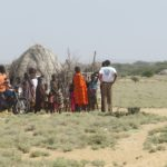 Turkana family further north of Lodwar Copyright Rupi Mangat