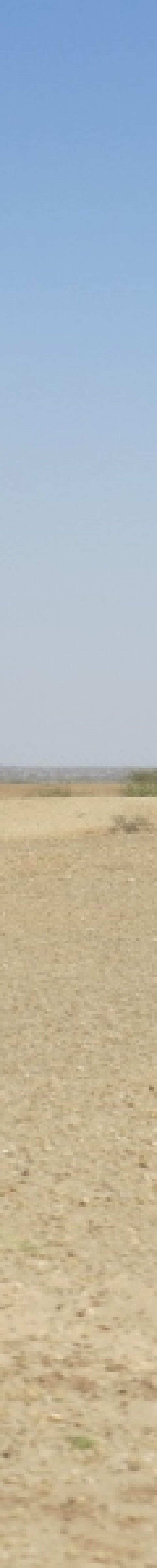 Desert dune overlooking lake Copyright Rupi Mangat