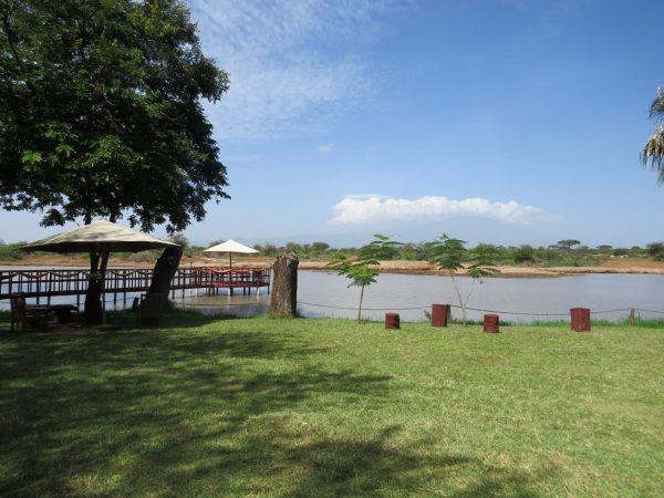 Grounds of Voyager Ziwani on the edge of Tsavo West Copyright Rupi Mangat