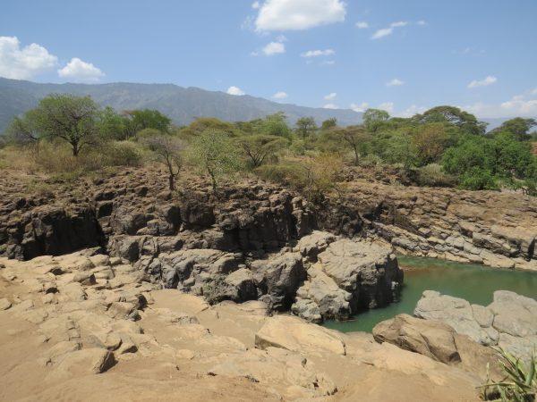 Cheploge Gorge - site of daring drives in Kerio Valley between Elgeyo Marakwet and Tugen hills. Copyright Rupi Mangat
