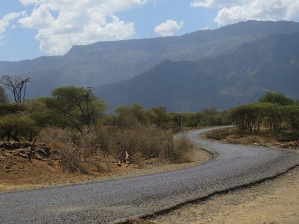 The road over Cheploge Gorge Copyright Rupi Mangat