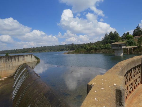 Chebara dam, 34 kilometers from Iten, it was opened in 1999 by the then president – Moi.