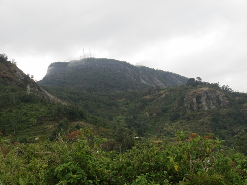 Peak of Vuria in Taita Hills - copyright Rupi Mangat