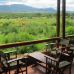 Chyulu Hills from Kilaguni Serena Lodge in Tsavo West Copyright Rupi Mangat