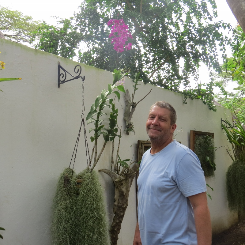 Nick Conway creator of Hanging Gardens of Malindi -Copyright Rup Mangat