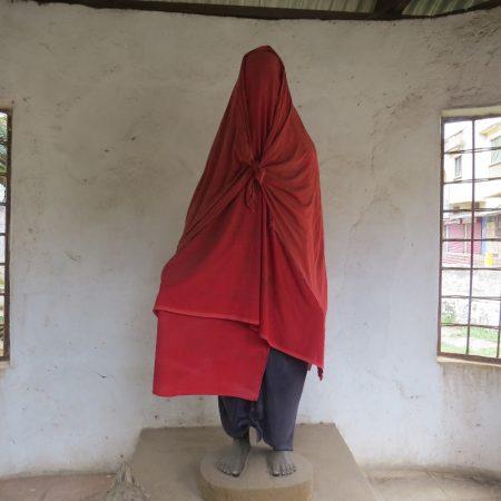 IMG_046Mekatilili wa Menza, the fiery crusader against colonial rule. Statue in Malindi town square Copyright Rupi Mangat 0 (800x800)