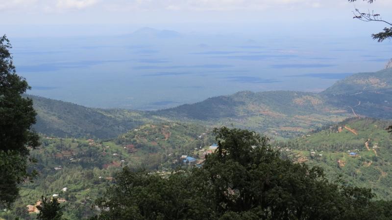 Overlooking Tsavo West from Taita Hills. Copyright Rupi Mangat