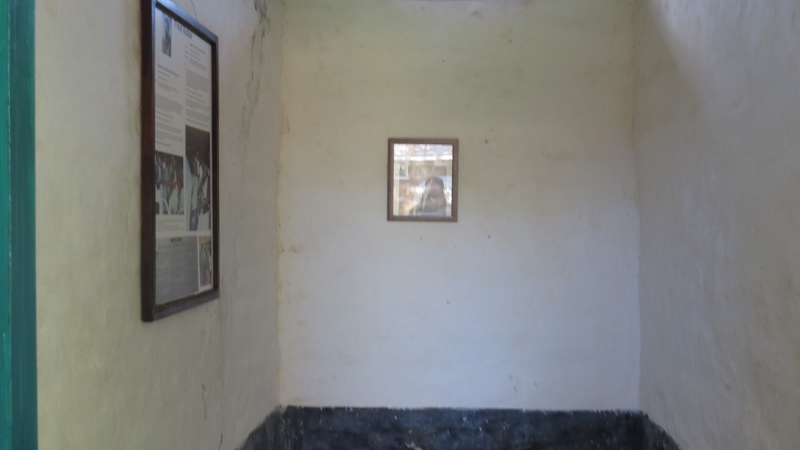 Kapenguria Museum - the Heroes Cell of one of the Kapenguria Six. Copyright Maya Mangat
