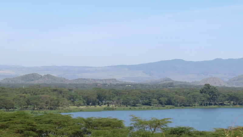 Lake Oloiden and the Mau Range, Copyright Rupi Mangat