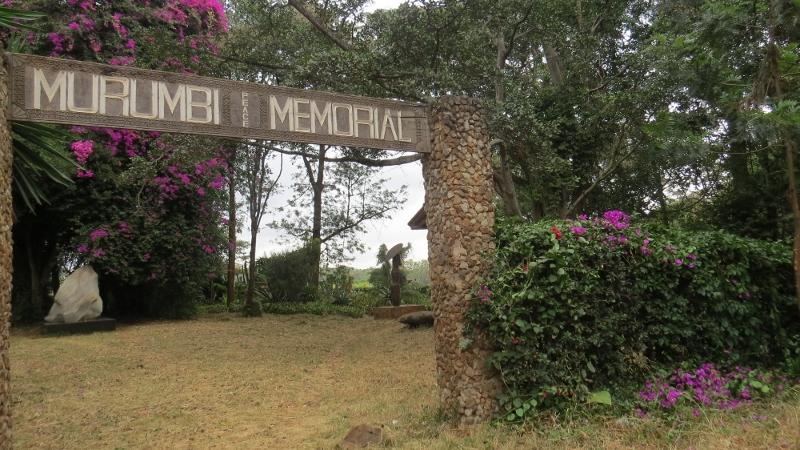 Entrance to Murumbi Peace Memorial Garden at Nairobi City Park. Copyright Rupi Mangat Feb 2019 (800x450)