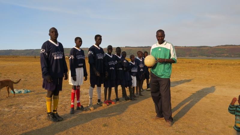 Korongo boys' fotball team at Lake Ol Bolossat Copyright Rupi Mangat Feb 2019 (800x450)