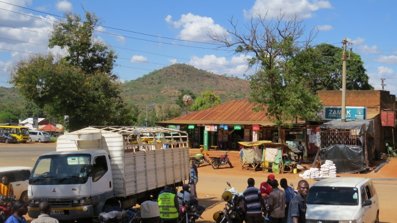 Outside the Office at Mwatate town on the Voi Taveta roadCopyright Rupi Mangat (800x450)