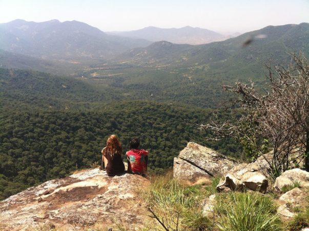 The vastness of Mathews Range - Facebook Kitich Forest Camp
