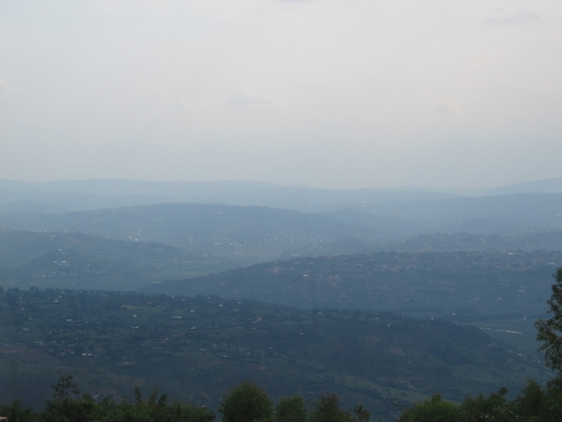 From Mount Kigali the view of Kigali. Copyright Rupi Mangat. One time use only (800x600)