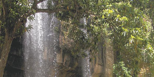 The Sheldrick Falls. Copyright Rupi Mangat