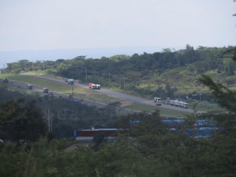 Dual carriageway along Manzonia dangerous crossing for wildlife and people . Copyright Rupi Mangat (800x600)