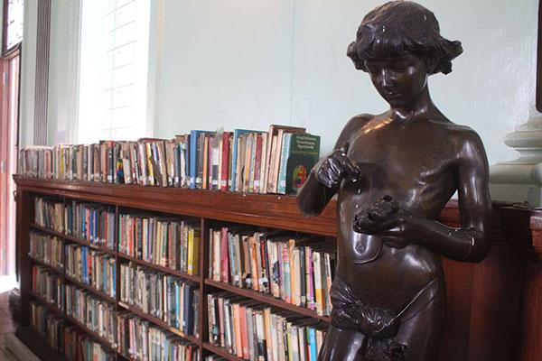 Inside Mcmillan Library