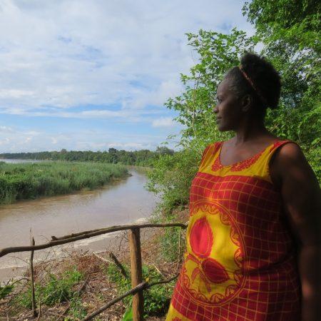 Leina Lemomo of Nje ya Selous camp by thebanks of Rufiji River, Selous Tanzania. Copyright Rupi Mangat (800x800)